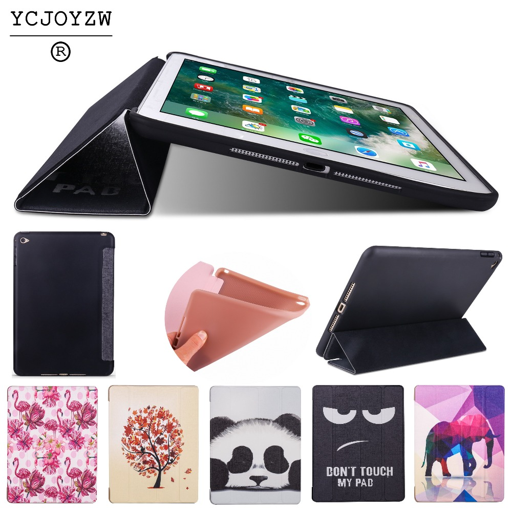 Case for Apple iPad Air 2 A1566`A1567.PU leather cover+TPU soft silicone full-angle guard-Smart sleep wake up for ipad-YCJOYZW 2016 spring shoes a flat with nurse shoes the leisure trend of korean flat shoes