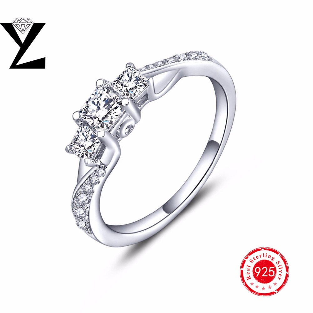 Yl Brand Offical Store Fashion Jewelry Top Quality 925strlingsilver  Female Ring For Anniversary Gift Party And Engagement