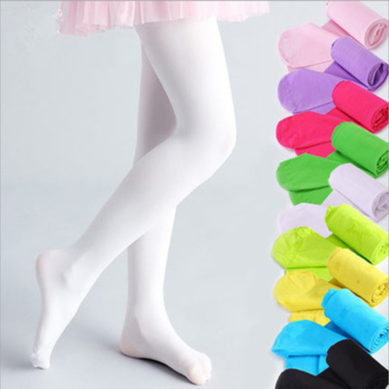 2a55a7bdf7ada Spring/Autumn Pantyhose Tights Child Girl Stocking Pants Lovely Velvet For Girls  Soft Dance Tights Candy 13 Color CL0855-in Tights & Stockings from Mother  ...
