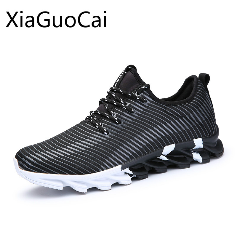 Summer and Spring Running Shoes Mens Sports Shoes Outdoors Breathable Sneakers Lightweight and Low Slip Mens Sports Shoes