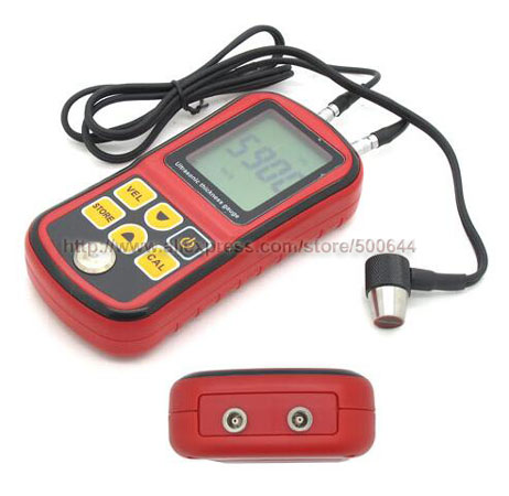 GM100 1.2-220mm Digital Ultrasonic Thickness Gauge Steel Thickness Meter Measuring Instrument Tester Free Shipping