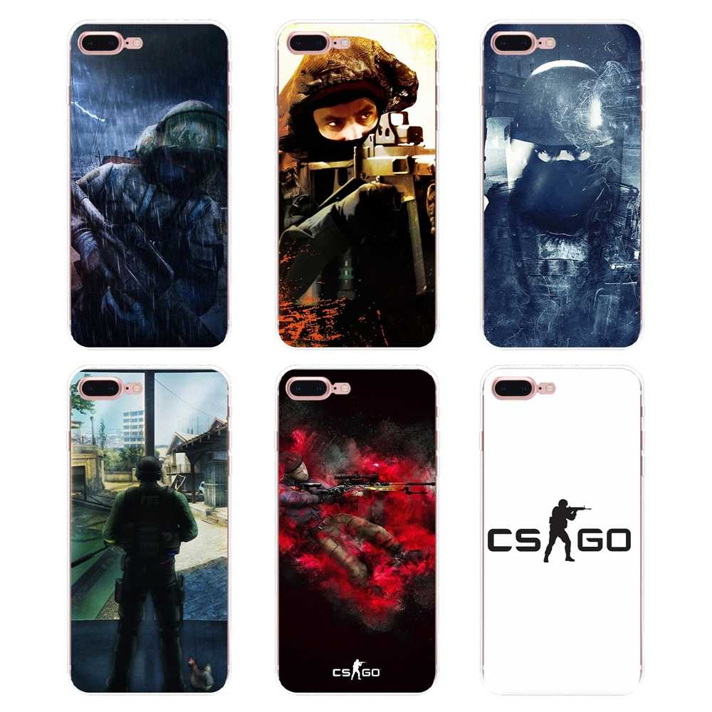 Przypadku Counter Strike Global Offensive cs go do Samsung Galaxy S2 S3 S4 S5 MINI S6 S7 krawędzi S8 S9 plus uwaga 2 3 4 5 8 Coque Fundas