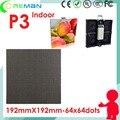 Али электроники бесплатная доставка 64x64 192 мм х 192 мм 64x32 светодиодный дисплей модуль матричный p3/мобильный светодиодный видео панель аренду p2.5 p4