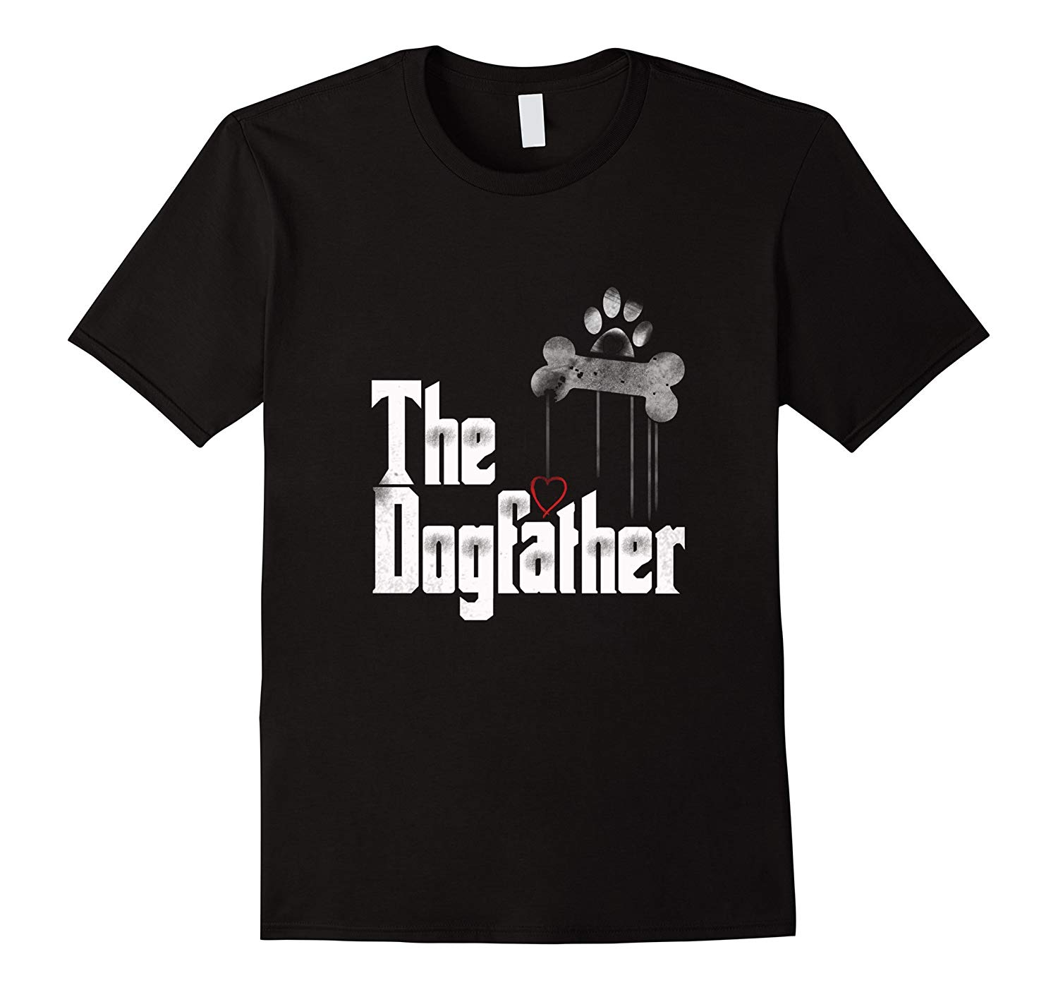 Mens The Dogfather Shirt Dad Dog T shirt Funny Father 39 s Day Tee Free shipping newest Fashion Classic Funny Unique gift in T Shirts from Men 39 s Clothing