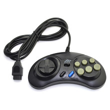 Classic for SEGA Wired Game Controller Genesis 16 bit Gamepad for SEGA Mega Drive Mode Fast Slow(China)