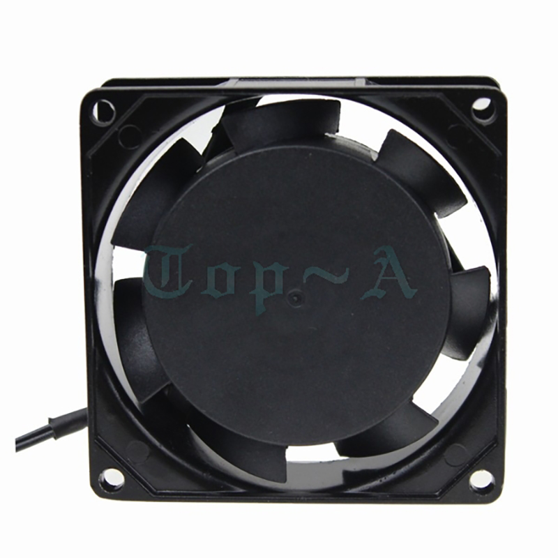Gdstime 10 pcs/lot AC Fan 110V 120V 80x25mm 8025 2 Wire Without Connector Industrial Exhaust Cooling Fan 80mm 8cm