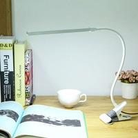 Brightest 6W USB LED Light Clip on Flexible Reading Bed Lamp Table Desk Lamp Book Desktop Bed Lamp Lighting Bedside Lighting