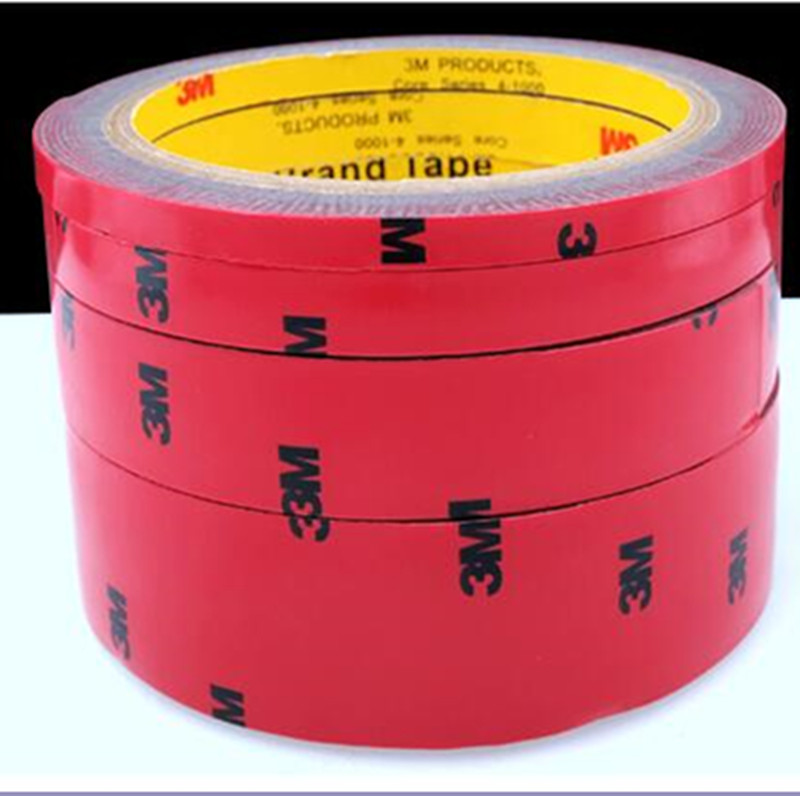 25mx3m /3m Tape Double Sided Acrylic Foam Adhesive Auto Car Styling Interior Tape Decorate Glue Stick Car-styling Width 25mm 5x 5mm 33 meters 0 8mm double sided transparent acrylic glue adhesive tape for auto glass metal car track shim attachment