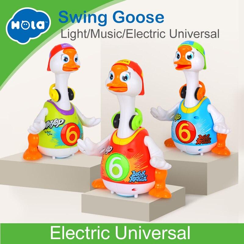 HUILE juguetes 828 juguetes Hip Pop baile leer y decir historia y interactivos Swing de aprendizaje educativo juguetes regalos
