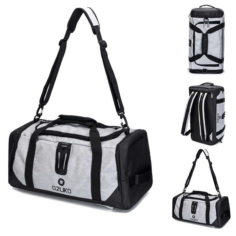 9c9b5dd32d42 21in спортивная сумка для фитнеса человек обучение тренажерный зал Сумка  для обуви рюкзак на плечо открытый
