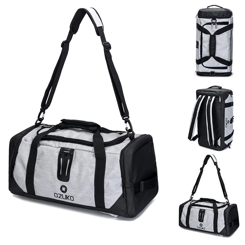 21in Sport Bag For Fitness Man Training Gym Bag Shoe Pouch Backpack Shoulder Outdoor Women Yoga Bags Travel Storage Handbag Tote