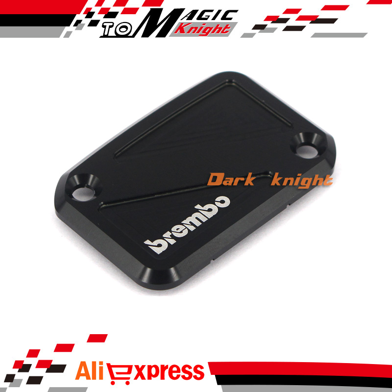 For YAMAHA YZF R125 YZF-R125 2012-2013 Black Motorcycle Front Brake Master Cylinder Reservoir Cover Cap