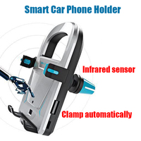 Universal New Design Infrared Sensor Electric Smart Air Vent Car Phone Holder For IPhone For Samsung