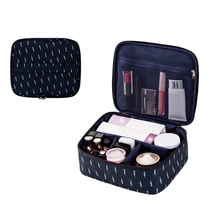 купить Women Oxford Cosmetic Bag For Makeup Organizer Travel Pouch Beauty Case Portable Toiletry Stoarge Kits Wash Zipper Bags дешево