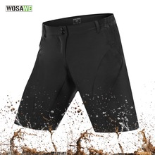 WOSAWE 2018 Cycling Shorts Outdoor Sports MTB Mountain Bike Ropa Breathable Loose Fit Running Bicycle Shorts Ciclismo