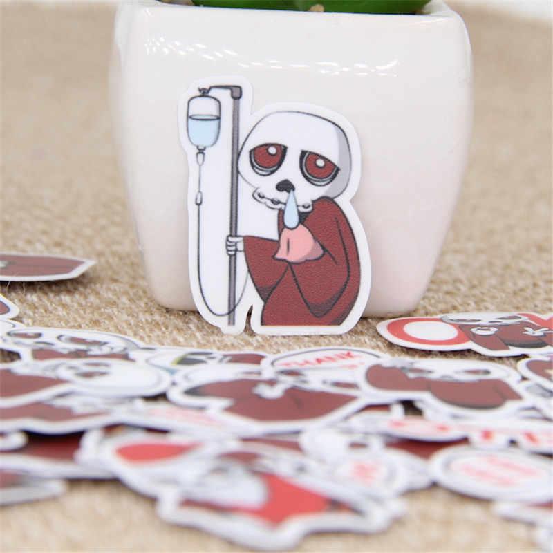 40 قطع لصم للماء للهاتف سيارة التسمية الزخرفية القرطاسية ملصقات سكرابوكينغ DIY ألبوم يوميات لعبة ملصقا