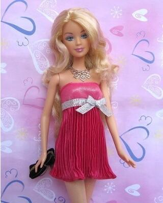 The for Barbie clothes fashion doll original apparel supermodel Chloe Peach can free collocation with wear series