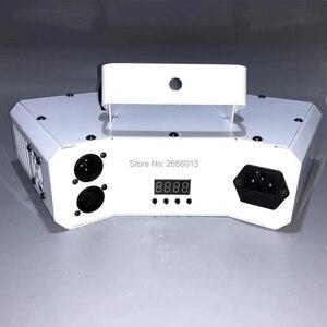 Image 2 - 6 oczy laserowe skanowanie światła DMX512 RGB pełny kolor światło laserowe liniowe + efekt obrazu oświetlenie sceniczne 6 obiektyw skaner laserowy sprzęt DJ
