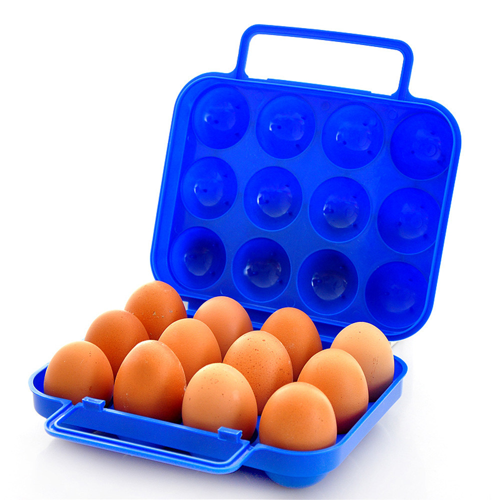 Portable12 Eggs Plastic Container Holder Folding Egg Storage Box Handle  Case In Storage Boxes U0026 Bins From Home U0026 Garden On Aliexpress.com | Alibaba  Group