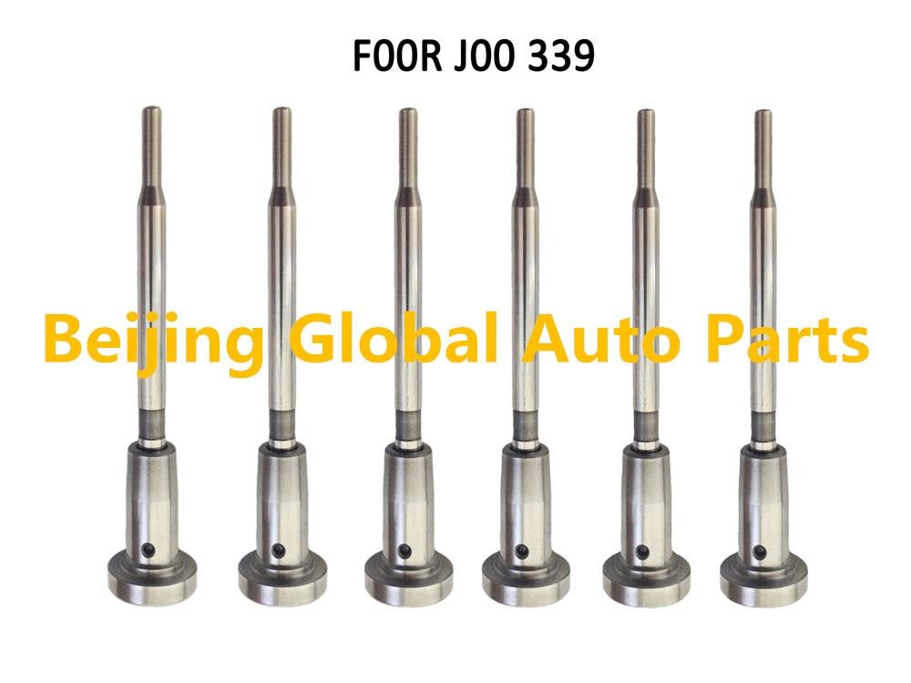 Sada řídicího ventilu vstřikovače plunžru Common Rail F00RJ00339 F 00R J00 339 pro vstřikovač 0445120007 0445120018 0445120032
