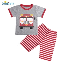 LONSANT Baby Boy Clothes Summer 2019 Newborn Baby Boys Clothes Set Baby Clothing Suit (Shirt+Pants) Infant Clothes Set N30 cheap Fashion O-Neck Sets Pullover Baby Boys Set Cotton Unisex Short Regular Fits true to size take your normal size Shorts Print