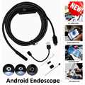 1m/2m/3.5m/5m 5.5mm Android OTG USB Endoscope Camera Flexible Hard Snake Pipe Inspection Android Phone USB Borescope Camera