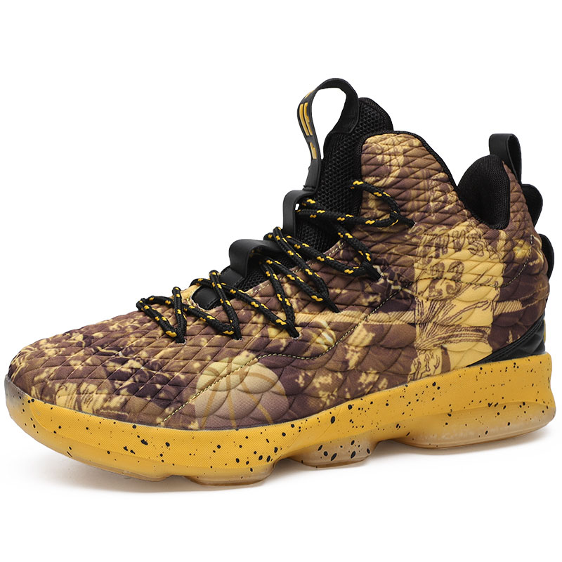 Men Sneakers Basketball-Shoes Ankle-Boots Lebron James High-Top Gym Outdoor Athletic