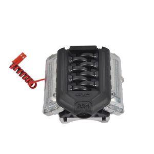 Image 5 - Rc алюминиевый имитационный радиатор двигателя охлаждающий вентилятор для 1/10 Traxxas TRX 4 D90 D110 двигателя