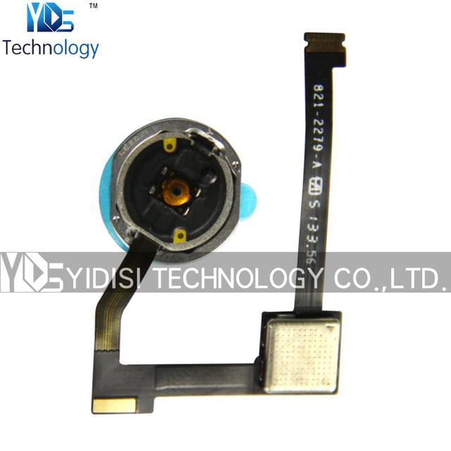 1 UNIDS Original Para iPad Aire 2 segundo Para iPad 6 sexto Botón Home Con Flex Ribbon Cable piezas de Repuesto negro