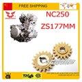 Двигатель масляный насос шестеренный ZONGSHEN NC250 250CC 4 клапанный двигатель xmotos кайо бфб грязезащищенная велосипед ямы аксессуары бесплатная доставка