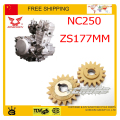 Engine oil pump gear ZONGSHEN NC250 250CC 4 valve engine  xmotos kayo bse dirt pit bike accessories free shipping