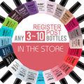 CUALQUIER 3-50bottles en tienda 100% serise Clásico Más Popular Con brillantes colores gel Bluesky polaco, uv gel nail polish