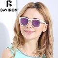 BAVIRON Nova Tendência Das Mulheres Óculos De Sol Da Marca HD Polarizada Espelhado Gases Polaroid UV400 Óculos de Lente Caixa de Óculos de Sol de Luxo 2813