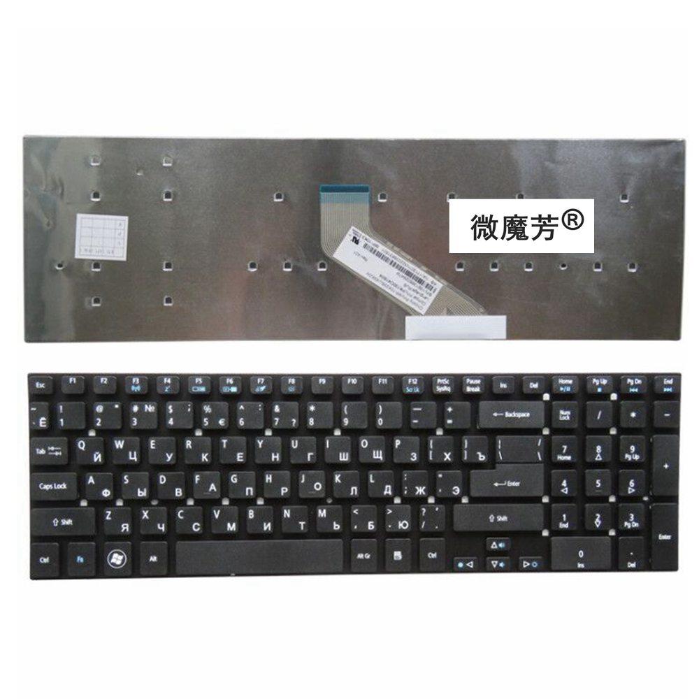 RU New for Acer for Aspire V3-531 V3-531G E1-570 V5-561 V5-561G E1-570G V3-7710 V3-7710G V3-772 V3-772G Laptop Keyboard Russian 15 6 laptop lcd screen display touch digitizer glass panel b156xtt01 1 for acer aspire v3 572p v3 572pg v5 561 v5 561g v5 561p