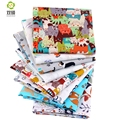 Shuanshuo New Cartoon Half Meter Twill Cotton Fabric Patchwork Cloth Of Handmade DIY Quilting Sewing Textile Material 160*50cm