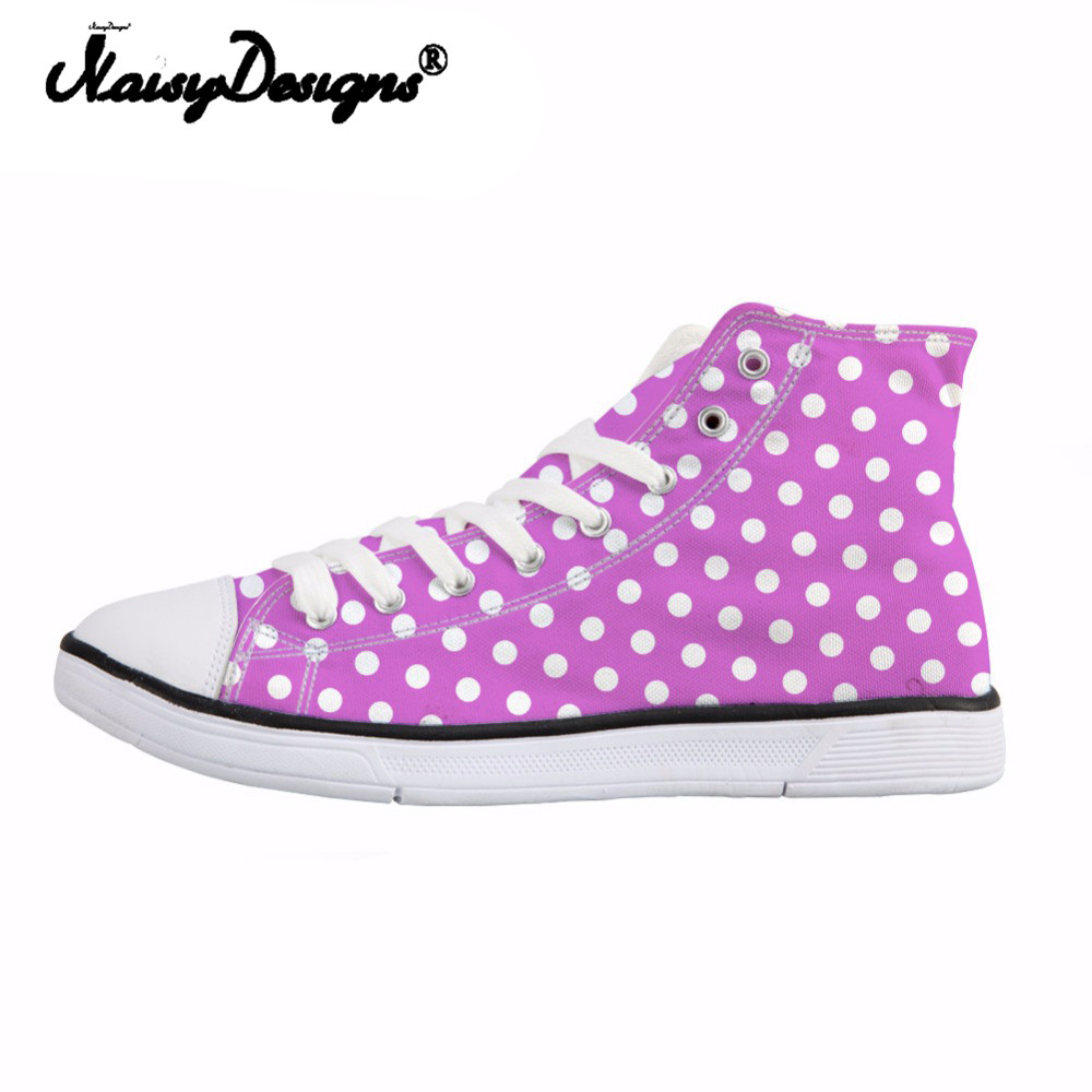 NOISYDESIGNS Women High Top Canvas Shoes Female Spring Summer Lace Up Vulcanize Shoes Woman Students Ladies Breathable SneakersNOISYDESIGNS Women High Top Canvas Shoes Female Spring Summer Lace Up Vulcanize Shoes Woman Students Ladies Breathable Sneakers