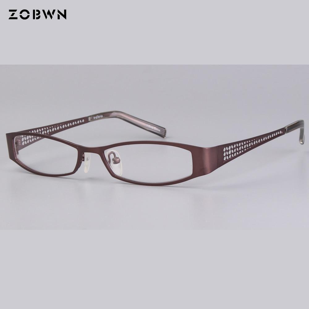 Myopie Für Persönlichkeit Linse Gläser Männer Halb Rand Lesen Frauen Brillen Klare Klassische Mädchen Optische xtqw4qBI