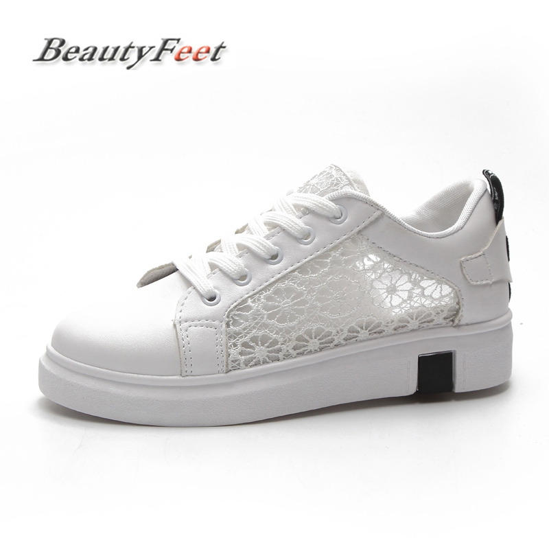 Sneakers Women Fashion Breathable Casual Female Footwear Leisure Ladies White Platform Shoes Womens Vulcanize Shoes BeautyFeet