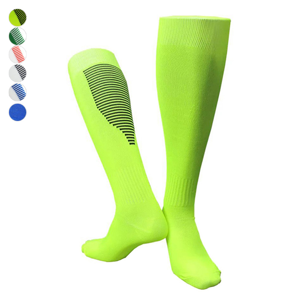 Men Women Soccer Socks Thick Breathable Knee High Football Sports Training Long Stocking 55 B2cshop Home