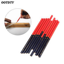Ootdty 10 шт/компл синий и красный провод круглые Плотницкие