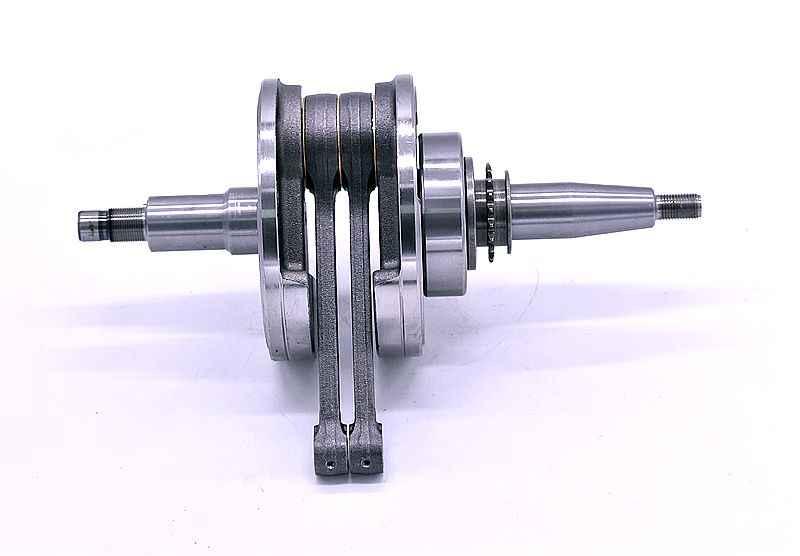 Crankshaft untuk Yamaha Sepeda Motor Virago XV250 Star 250 Rute 66 Keeway Supershadow Cruiser Dorado Vento V-Thunder Colt 2V49FMM