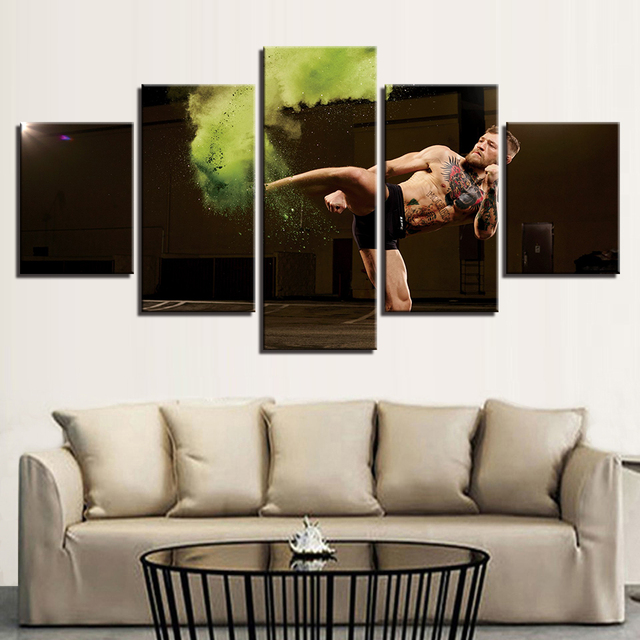 HD Printed 5 Pieces Home Decor Canvas Wall Art Pictures Frames Living Room Enchanted Tree Scenery Paintings Magic Forest Posters