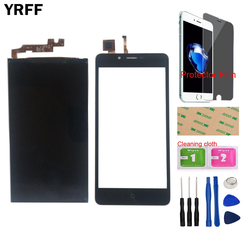 Touch Sceeen LCD Display For Leagoo Kiicaa Power LCD Display Touch Screen Glass Digitizer Panel Sensor Free Tools Protector Film