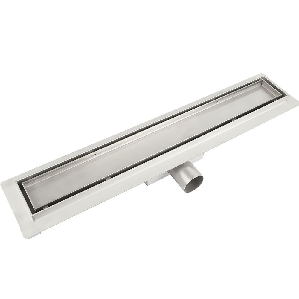Stainless Steel Shower Drain Channel For Floor Drain Siphon  For Bathroom