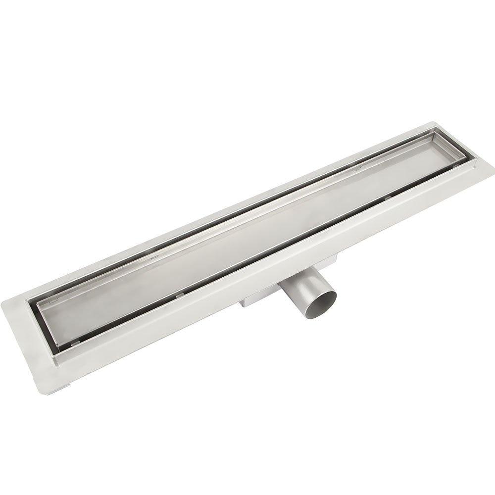 Stainless Steel Shower Drain Channel For Floor Drain Siphon  For Bathroom