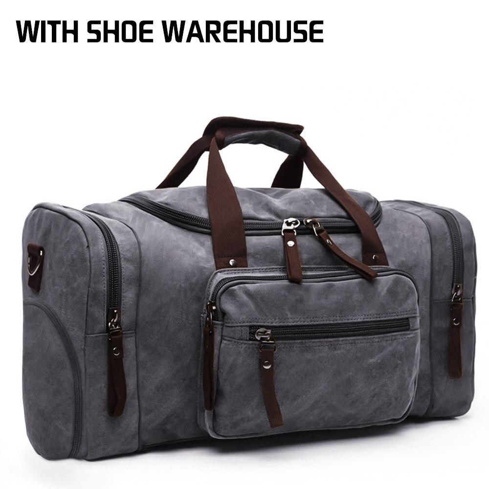 MARKROYAL, мягкие холщовые мужские дорожные сумки, сумки для багажа, мужская спортивная сумка, сумка для путешествий, сумка на выходные, высокая емкость, дропшиппинг - Цвет: Generation 2 Gray