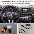 For Mazda CX-5 CX 5 CX5 2015 2016 2017 RCA & Original Screen Compatible / Car Rear View Camera / HD Back Up Reverse Camera Sets