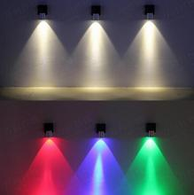 A1 LED творческий стены алюминий цвет K ТВ свет лестница вход проход коридор лампа ночники ТВ фон Настенные светильники sd142