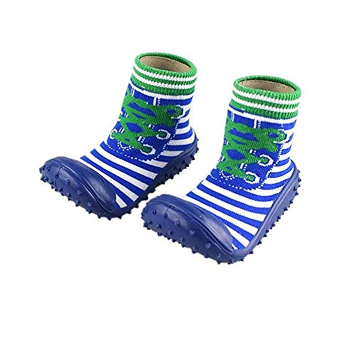 Infant Toddler Non-slip Breathable Cotton Shoes Socks Baby Socks With Rubber Soles  Mr001