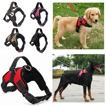 Hot Sale Nylon Pet Dog Collar Vest Accessories Solid Harness of high quality for small and large Dogs
